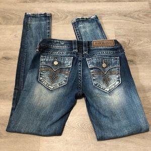 Rock Revival Alivia Skinny Jeans Size 26